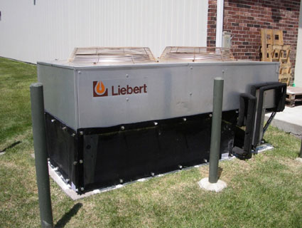 Liebert Dry Cooler with Dry Cooler Screen - Industrial Grade Filter Screen w. Stud Adapter Fasteners