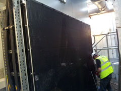 Air Intake Screen Installation Major UK Laboratory