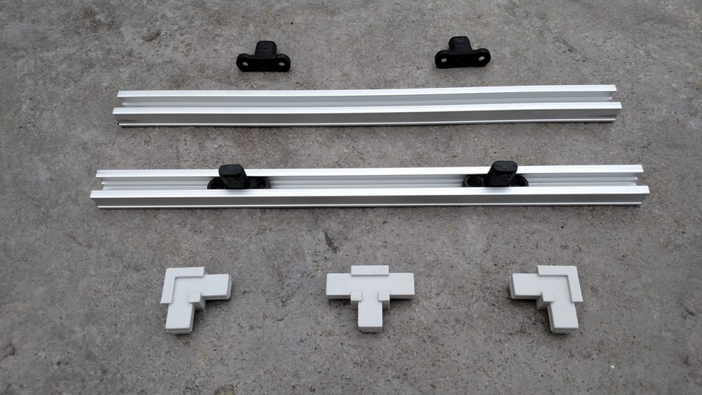 Magna-Track Connectors and track for use on Magnetic Air Intake Filters (Magna Track)