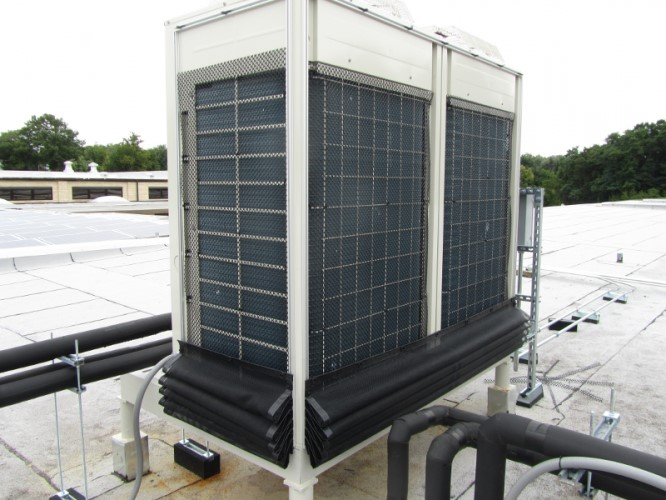 Daikin-VRV with HD Commercial Grade Filter in Down Position