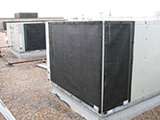 Air Intake Screens - Protecting Rooftop Units - RTU Screens