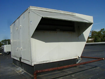 Air Handling Unit without an hvac intake filter