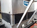 cooling tower filter installed on Evapco Cooling Tower