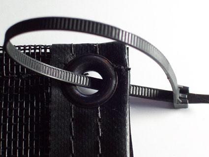 Cottonwood Filter Zip Tie Attachment