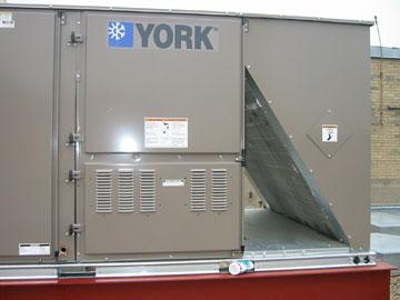 York Rooftop Unit