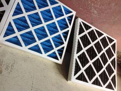 Figure 7 Clean vs. Dirty Filters