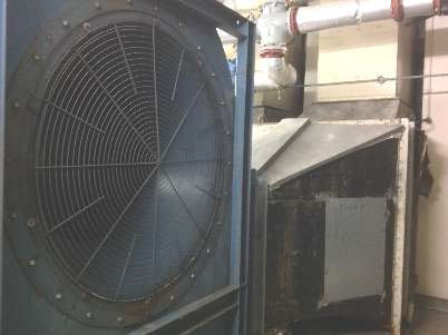 Figure 5 Supply Fan Air Intake
